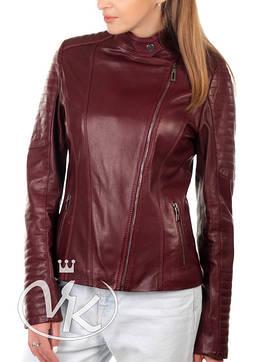 Кожаные куртки женские