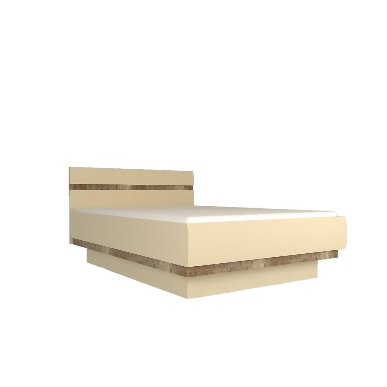 Ліжко (кровать) в спальню з ДСП/МДФ 160 Letis Z2 Blonski
