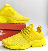 Женские кроссовки Nike Air Presto Ultra BR lemon chiffon. Живое фото (Реплика ААА+)