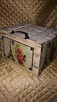 Ящик с крышкой декоративный