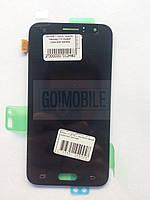 Дисплей + сенсор (модуль) Samsung J120 черный сервисный оригинал GH97-18224C