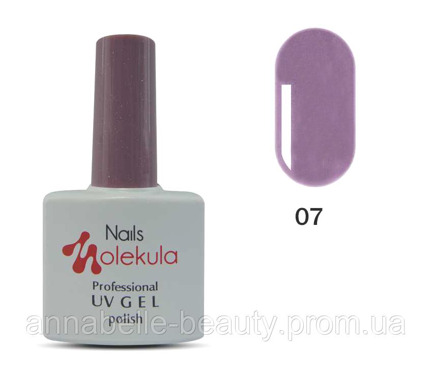 Гель-лак 11мл №07 лилово-серый