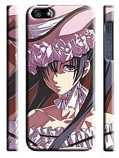 Чехол на  iPhone 5/5s dark butler Сиэль в платье