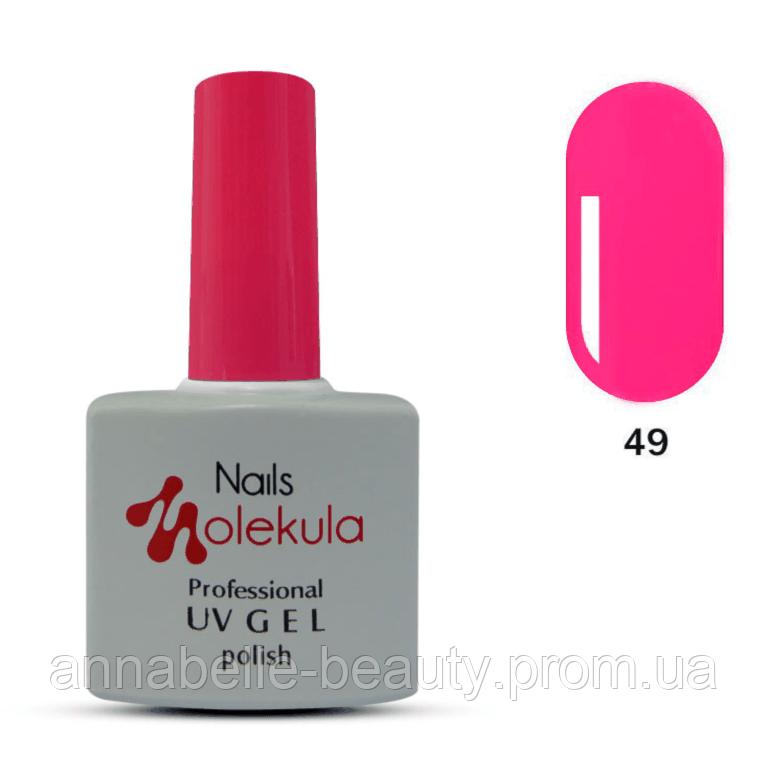 Гель-лак 11мл №49 яркий розовый неон