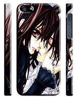 Чехол на  iPhone 5/5s vampire knight поцелуй