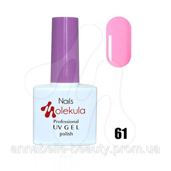 Гель-лак 11мл №61 бледно-пурпурный
