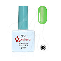 Гель-лак 11мл №68 витражный зеленый