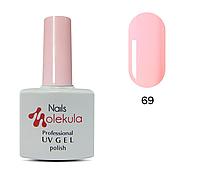 Гель-лак 11мл №69 розовый натюрэль