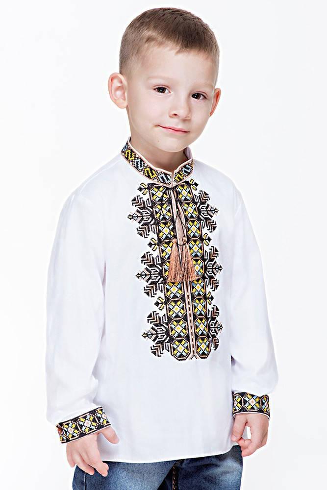 """Дитяча вишита сорочка для хлопчика """"Батьківська"""""""