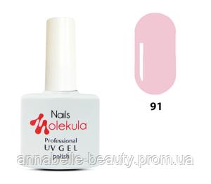 Гель-лак 11мл №91 розово-лиловый натюрель