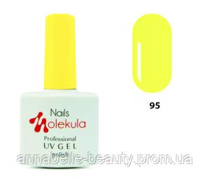 Гель-лак 11мл №95 лимонный неон