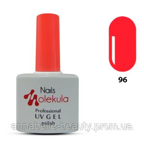 Гель-лак 11мл №96 розово-коралловый неон