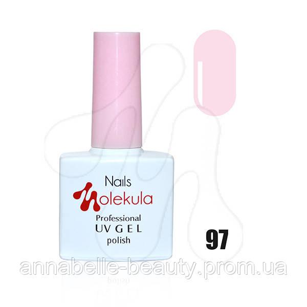 Гель-лак 11мл №97 розовое кружево