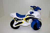 Мотоцикл-каталка, мотобайк детский с музыкой и светом.