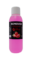 Remover - средство для снятия гель-лака и биогеля 570мл srtrawberry