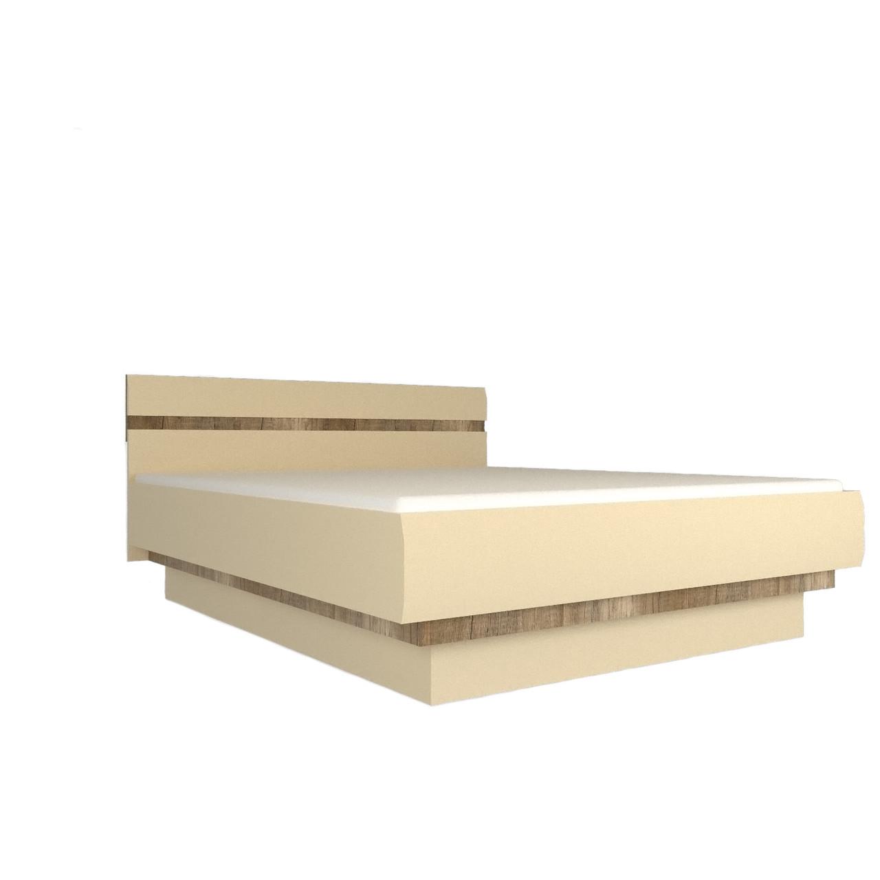 Ліжко (кровать) в спальню з ДСП/МДФ 180 Letis Z3 Blonski