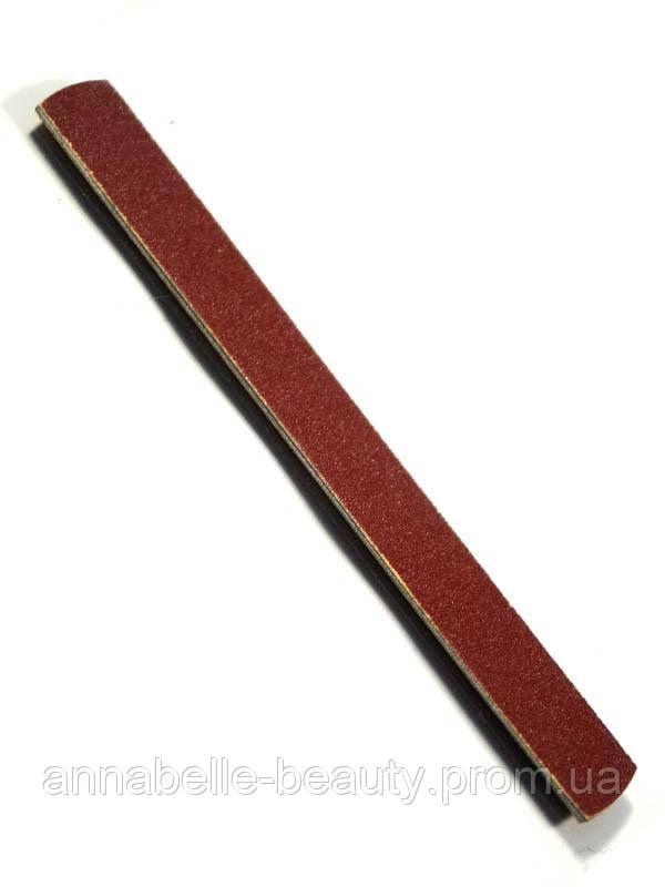 Пилка для натуральных ногтей на металлической основе 150/180