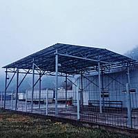 Ангар, склад, металлоконструкция под заказ., фото 1