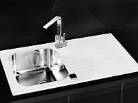 Кухонная мойка Alveus Glassix 10 white I 86*50