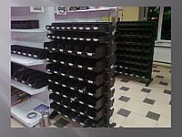 Стелаж для метизних ящиків двосторонній 1500мм 120 ящиків,Стеллаж для метизных ящиков двусторонний 1500мм