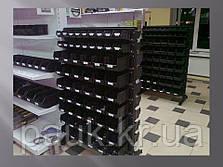 Стелаж 1500мм 120 ящиків, під метизні ящики двосторонній, фото 2