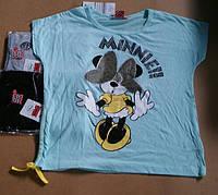 Футболка для девочек Disney оптом, 10/11-13/14 лет .