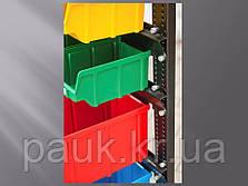Стелаж 1500мм 120 ящиків, під метизні ящики двосторонній, фото 3