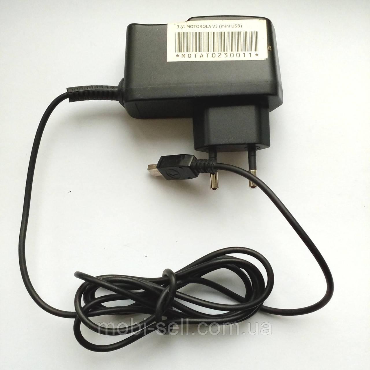 Зарядное устройство LG G1800; Motorola A780, E1070, E680, E770, L2, L6, U6, V235, V3, V360, V3c, V3i, V3r, V3x