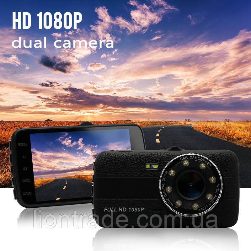 "T649 Novatek 96650 WDR 4.0""(2 камеры)"