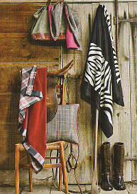 Rustic stripes and plaids
