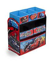 Органайзер для игрушек с ящиками Disney Cars