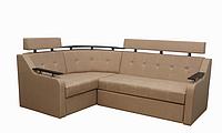 Угловой диван Garnitur.plus Элегант 3 светло-бежевый 165 см