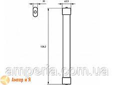 Светильник линейный светодиодный EUROLAMP LED IP65 36W 6500K (1.2m) SLIM, фото 3
