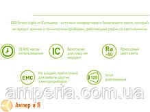 Светильник линейный светодиодный EUROLAMP LED IP65 36W 6500K (1.2m) SLIM, фото 2