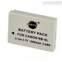 Аккумулятор для фотоаппарата Canon NB-5L, 1500 mAh.