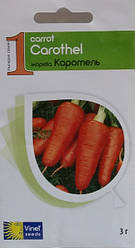 Семена моркови Каротель 3 г, Империя семян
