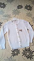 Нарядный белый свитер, кофта (тонкая)  для девочки 2-3 года. Турция!!!