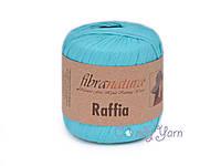 FibraNatura_Raffia_Бирюза №116-09