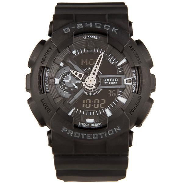 Спортивные наручные часы Casio G-shock GA-110 Black Касио реплика