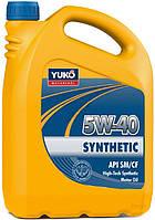 Масло моторное YUKO SYNTHETIC 5W-40 API SM/CF 4л
