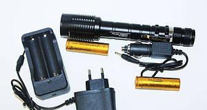 Фонарь тактический Police BL-2804 158000W фонарик мощный Диод Т6