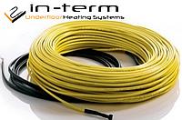 IN-TERM ADSV-20W/m двужильный нагревательный кабель для теплого пола под стяжку