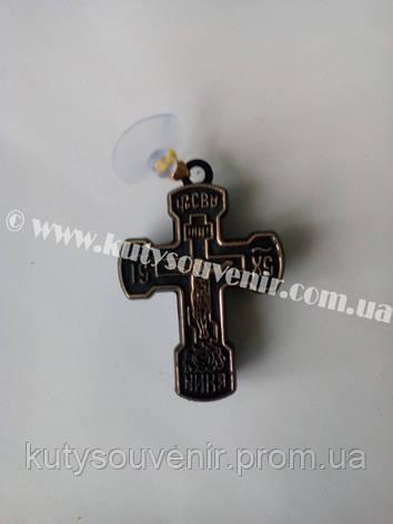 Крестик в авто с присоской, фото 2