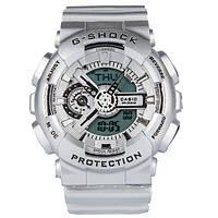 Спортивные наручные часы Casio G-shock GA-110 Silver Касио реплика, фото 1