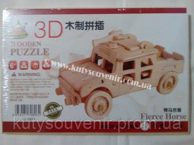 3D пазл машинка, фото 2