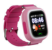 """Детские умные смарт часы Q90Q100 Smart Baby Watch с GPS и Кнопкой SOS, 1.3"""" Цветной Сенсорный Дисплей 5 цветов"""