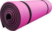 Коврик Polifoam туристический двуслойный 10мм розово-серый