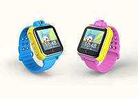 """Детские Умные Смарт Часы телефон Q200 Q730 Smart Watch с Камерой GPS Wi-Fi 1.54"""" Сенсорный Экран"""