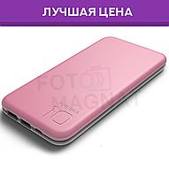 Puridea S2 10000 mAh Pink White — Power Bank, Повербанк, Портативная зарядка, УМБ