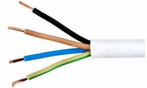 Провод гибкий ПВС 4х1,5 медь